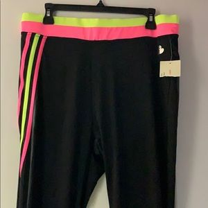 Plus size workout tights
